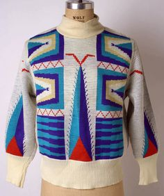 Sweater Vivienne Westwood (British) ca. 1982 wool