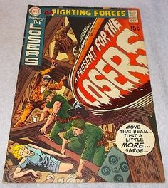 DC Comic Book Our Fighting Forces The Losers No 127 1970..........9.96