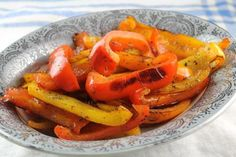 Easy Pan Roasted Peppers are the Perfect Side Dish: Pan Roasted Peppers