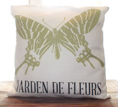 Wings Pillow by CCurate on Etsy