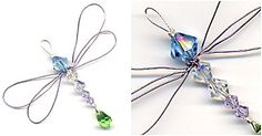 Dragonfly sun catchers