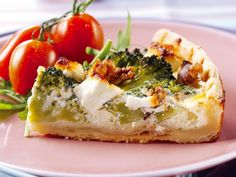 Get Feta, Broccoli Walnut Tart with FAGE Totalandreg; Greek Yogurt Recipe from Food Network