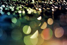 Puddle Lens Flare Sun
