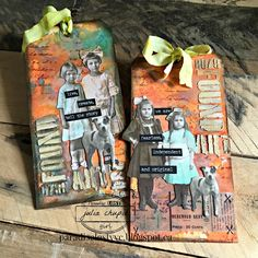 Hello my crafty friend! I was fortunate enough to get in on a worldwide Tag Swap for Tim Holtz Addicts earlier this month. I was ma...