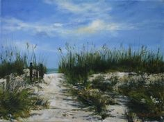 """Morning Walk"" by Paula B. Holtzclaw  ~ 12 x 16"