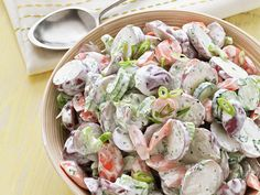 Garden Potato Salad recipe from Food Network Kitchen via Food Network