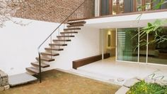 Staircase (Julian King Architecture headed this remodel of a Chelsea Victorian)
