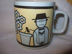CLAPPISON HORNSEA GARDENER mug 1970s by HoushamAntiques on Etsy