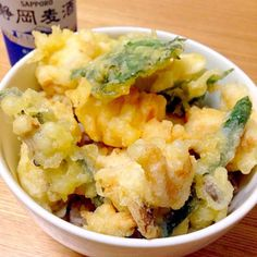 揚げたての鳥天は美味い - 11件のもぐもぐ - 十六穀米の鳥天丼 by koinasubi