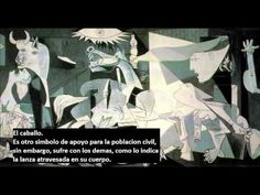 """Pablo Picasso, """"Guernica,"""" 1937 """"Did you do that?"""" a Nazi officer asked Picasso in front of Guernica. """"No,"""" Picasso is said to have replied, """"you did. Picasso Guernica, Picasso Paintings, Picasso Art, Oil Paintings, Pablo Picasso Facts, Painting Art, Picasso Images, Art History, Frames"""