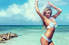 Beach Bunny Bride Campaign starring Kate Upton