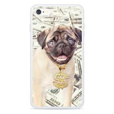 Thug Pug Smartphone Case by Shelfies Dashing Through The Snow, Loose Tank, Word Of Advice, Printed Tank Tops, Pugs, Cute Dogs, Tank Man, Words, My Style