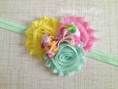 Easter Headband Spring Headband Pink Headband by TammysBowtique, $6.25