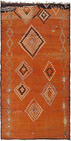 Vintage Moroccan Rug 45987 Main Image - By Nazmiyal