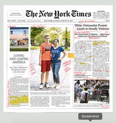 Artist Alexandra Bell lays bare issues of race in journalism and in newspaper like the New York Times Editorial Layout, Editorial Design, New York Times, Ny Times, Newspaper Design Layout, Times Newspaper, Media Bias, Email Design, Web Design Inspiration