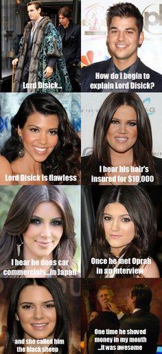 Lord Disick ahahahahah @scottdisick #kardashians