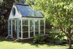 Näin rakennettiin Knutaksen puutarhan kasvihuone - Suomela