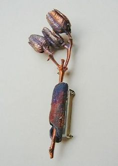 by Denise Peck Simple Electroforming: Turn Your Favorite Things Into Jewelry - Jewelry Making Daily blogs