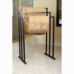 Kingston Brass Edenscape Free Standing Towel Rack Finish: Oil Rubbed Bronze