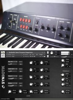 Synbotik brings the famous old-school, early digital flavor of the DK Synergy into this decade.   The Synergy was a digital additive synthesizer manufactured from 1982 to 1985. Of the approximately 700 to 800 that were produced, it is estimated that less than 100 may still be in operation today.  The Synergy features 24 tone presets that have been reprogrammed in Ableton Live, Kontakt and Logic. It even includes the legendary program cartridges inspired by Wendy Carlos.