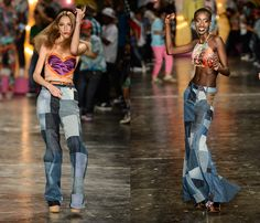 Cavalera 2014 Summer Womens Runway Collection - São Paulo Fashion Week: Designer Denim Jeans Fashion: Season Collections, Runways, Lookbooks...