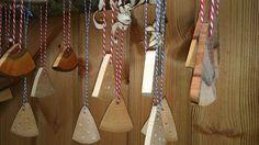 Wooden triangles at #Bath #Christmas market #Bath #England