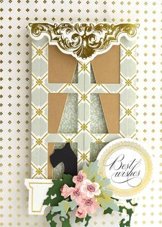 August 2017- 12x12 Double-Sided Cardstock Anna Griffin Inc, Anna Griffin Cards, Scrapbooking, Scrapbook Paper Crafts, Mason Jar Crafts, Mason Jar Diy, Crafts To Make And Sell Unique, Window Ledge, Popular Crafts