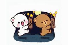 The perfect Milk Mocha MilkAndMochaBears Animated GIF for your conversation. Discover and Share the best GIFs on Tenor. Cute Love Gif, Cute Love Pictures, Cute Cat Gif, Cute Bunny Cartoon, Cute Love Cartoons, Polar Bear Drawing, Bear Gif, Cute Bear Drawings, Chibi Cat