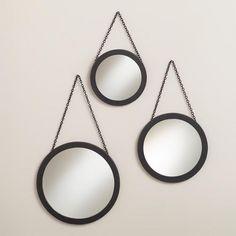 Round Carson Metal Wall Mirrors / world market