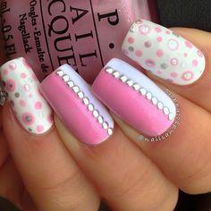 pink-nail-art-52 - 65 lovely Pink Nail Art Ideas   <3