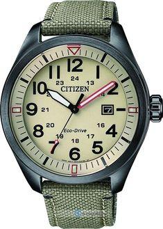 Zegarek męski Citizen Zegarki Military AW5005-12X - sklep internetowy e-zegarki.pl #menswatchesmilitary