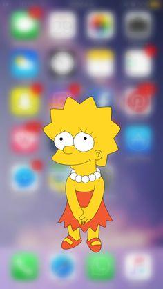 #simpson #homero #wallpapersimpson #lisa #bart Lisa, Wallpaper, Fictional Characters, Art, The Simpsons, Wallpapers, Wallpaper Desktop, Craft Art, Kunst