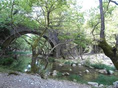 Trani Vrysi bridge at Monastiraki Gortynia Arcadia Peloponnese Greek, Bridges, River, Places, Photography, Photograph, Fotografie, Photoshoot, Greece