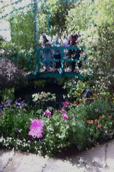 It was the perfect beautiful afternoon—here's my #ImpressionistLens pic from #MonetsGarden app! By @Lucy Redoglia