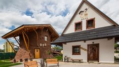 Penzión Koliba** - Dolný Kubín Cabin, House Styles, Home Decor, Decoration Home, Room Decor, Cabins, Cottage, Home Interior Design, Wooden Houses