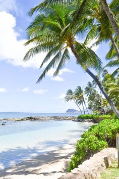 Ko Olina offers tranquil stretches of beach - exactly what you're looking for on your next vacation in Oahu, Hawaii