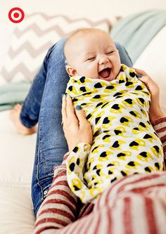 Savor the snuggles in style with this swaddleplus from aden by aden + anais for Target, designed by Orla Kiely. The soft, breathable wraps help keep Baby comfortable day or night, all year 'round.