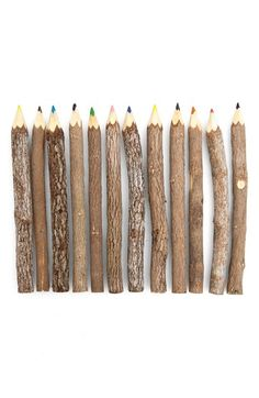 Poketo Reclaimed Branch Colored Pencils (Set of 12)