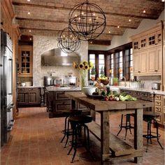 New Kitchen, Kitchen Dining, Tudor Kitchen, Texas Kitchen, Barn Kitchen, Colonial Kitchen, Summer Kitchen, Kitchen Nook, Awesome Kitchen