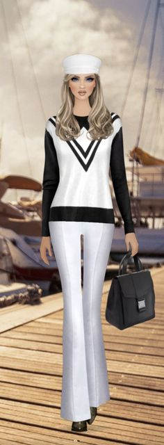 Black And White Illustration, Covet Fashion, Closets, Style Icons, Puzzles, Barbie, Footwear, Anime, Painting