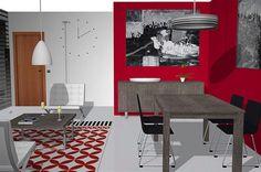 Salón comedor con los muebles del catálogo ONA
