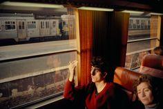 Harry Gruyaert BELGIUM. Bruxelles. Gare du Midi (Midi train station). 1981.