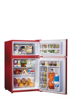 Nostalgia Electrics Retro Series 31 Cubic Foot Red Compact Refrigerator  Freezer On @HauteLook Part 40