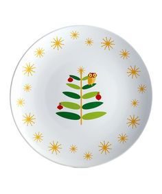 Take a look at this Winter Owl Platter by Rachael Ray on #zulily today!