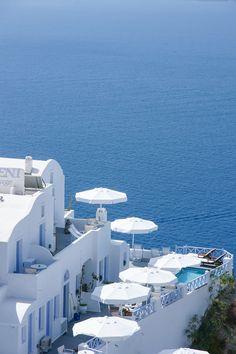 Caldera in White - Oia, Santorini
