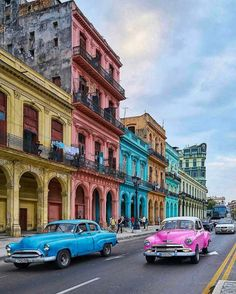 Comment your thoughts!  Amazing Colors  Havana Cuba @adeptarchitect - Architecture and Home Decor - Bedroom - Bathroom - Kitchen And Living Room Interior Design Decorating Ideas - #architecture #design #interiordesign #homedesign #architect #architectural #homedecor #realestate #contemporaryart #inspiration #creative #decor #decoration