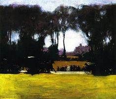 George Bellows (Am. 1882-1925), Central Park, 1905, huile sur toile, 54,61 × 64,77 cm, Columbus, Ohio State University Faculty Club