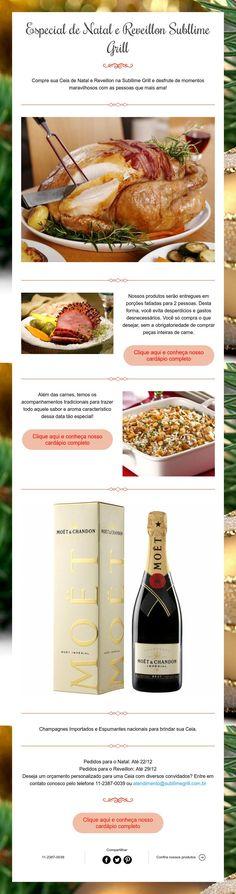 Especial de Natal e Reveillon Subllime Grill