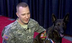 A military dog reunited with his former partner on Saturday in Portland after more than three years apart. Luke the Dutch shepherd and Sgt. Stephen Strick met at the Pet Fair at the Portland Expo Center. Luke was there for an exhibit about military working dogs. Strick drove down from Joint Base Lewis McChord in Washington. The two worked together in Iraq for more than a year.