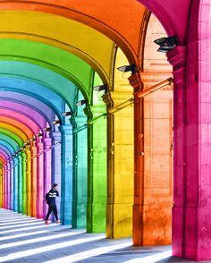 Fotografia multicolorida por Ramzy Masri